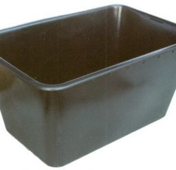 200 Litre Nesting Crate Black Recycled