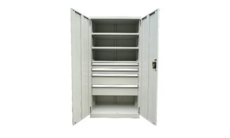 4 Drawer/ 3 Shelf Industrial Cupboard