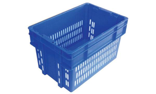 52 Litre 2000 Series Modular Crate & Lid - Vented | 52 Litre 2000 Series Modular Vented Crate
