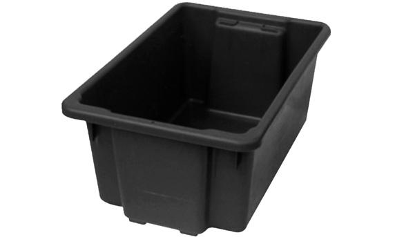 52L Black Recycled TUFFTOTE | 52l black recycled tuff tote