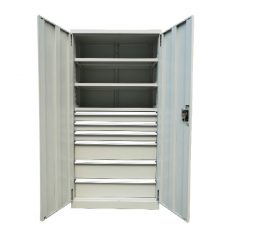 6 Drawer/ 3 Shelf Industrial Cupboard