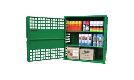 108 Can Aerosol Storage Cabinet
