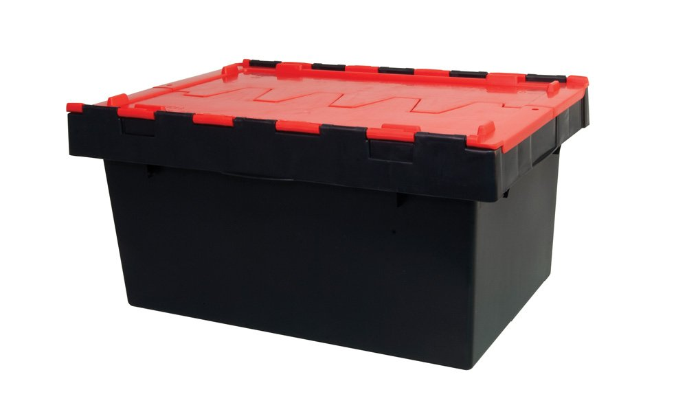 Hinged Lid Security Crates