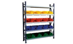 Activity Rack with Stack and Hang Bins