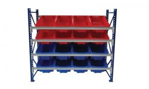 Activity Rack with Tuff Totes