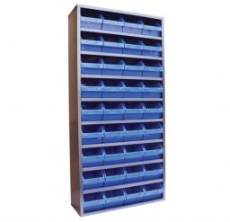 STORBAY Shelving Module with 36 Stack n Hang Bins