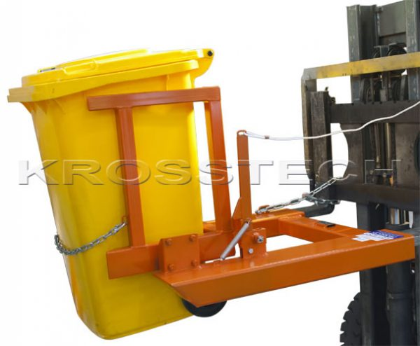 Wheelie Bin/Drum Tipper   wheelie bin drum tipper
