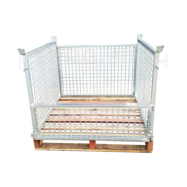 Full Height Pallet Cage - Timber Base | Full Height – Timber Base Pallet Cage