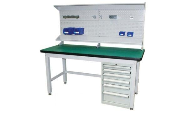 1800 Series Complete Modular Workbench | modular workbench with backboard