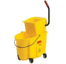 33 Litre Mop Bucket with Side Press Wringer