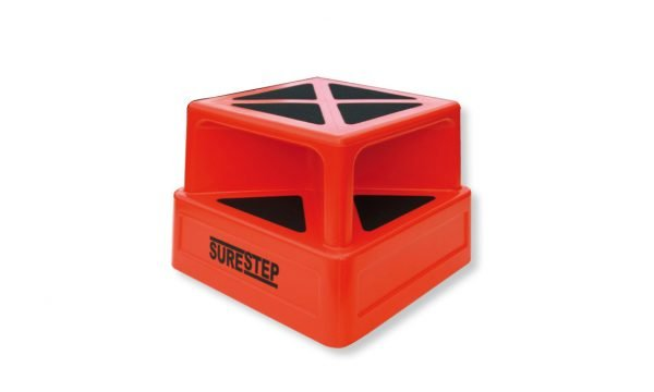 Surestep with rubber bumpers