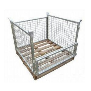 Timber Base Pallet Cages