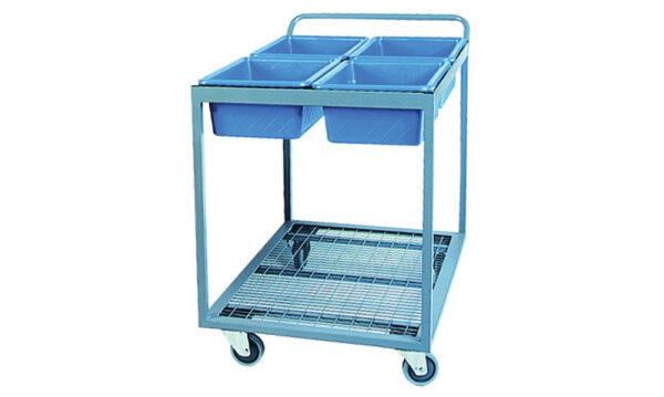 Order Picking Trolley - Four Tub | order picking trolley – four tub