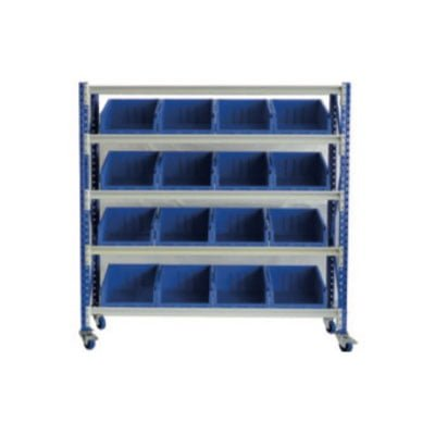 STACKRACK with Stack N Hang Bins | activity rack with stack and hang bins