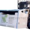 Mega Bin Forklift Tipping Attachment   Mega Bin Forklift Tipping Attachment