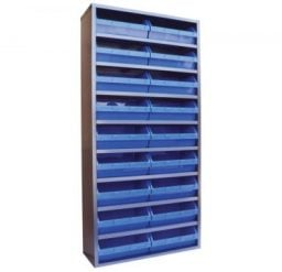 STORBAY Shelving Module with 18 Stack n Hang Bins