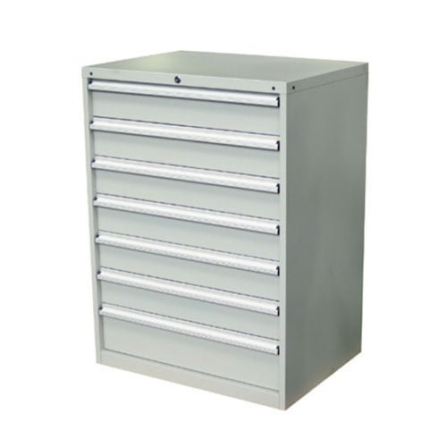 7 Drawer Cabinet – 1200mm High | industrial tool cabinet workstation