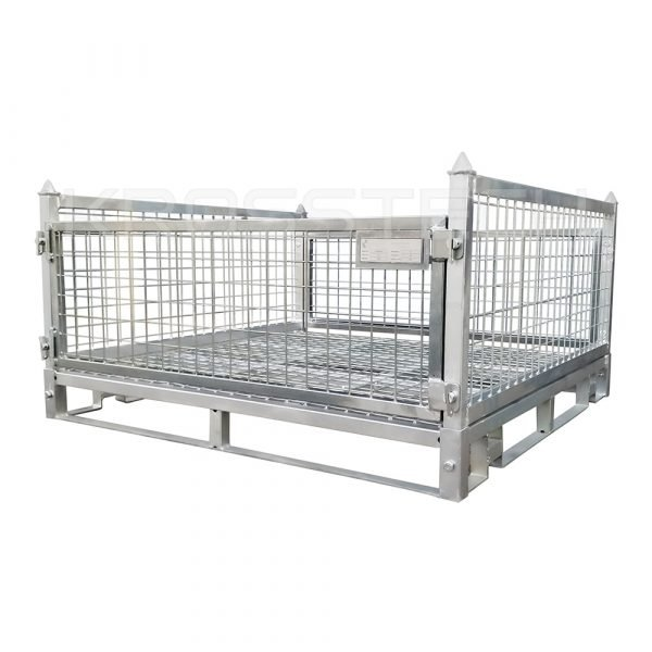 Half Height Steel Stillage - Mesh Base |