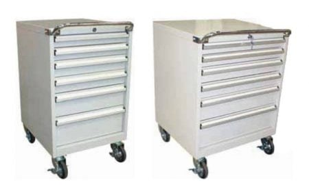 Heavy-Duty Parts Trolleys