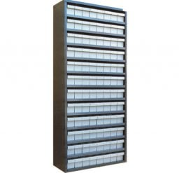 STORBAY Shelving Modules with 96 Small Parts Trays