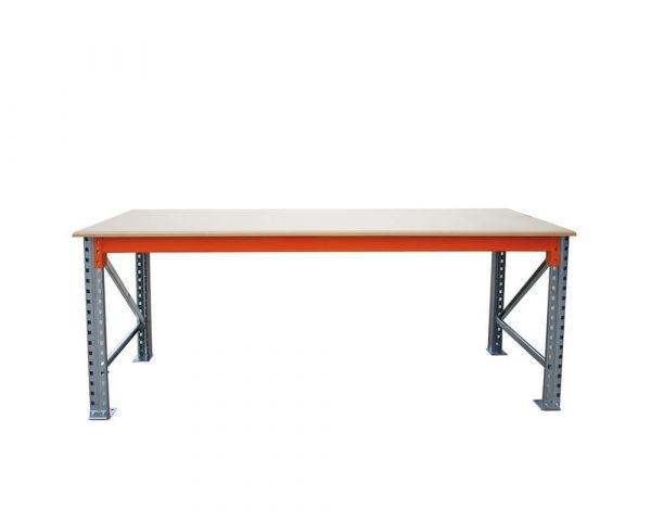 Standard Heavy Duty Workbench | Heavy Duty High Back Workbench