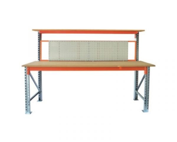 High Back with Square Panel Backboard | heavy duty high back workbench