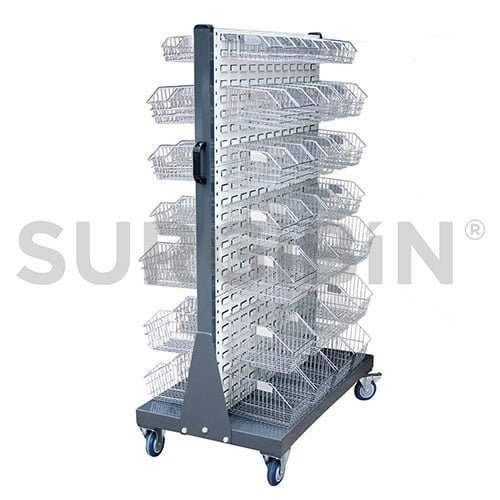 surgibin divider rack