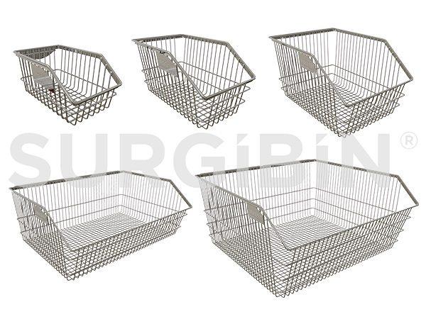 SURGIBIN<sup>®</sup> Chrome Wire Baskets |