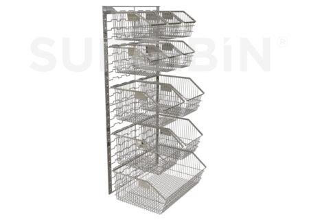 SURGIBIN® | stackable wire baskets